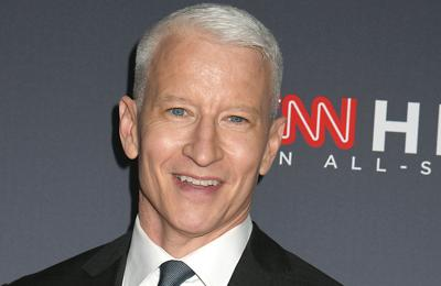 Anderson Cooper's son gets Andy Cohen's hand-me-down clothes