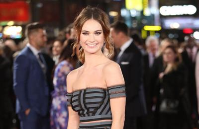 Lily James: Lockdown has made me value my friendships