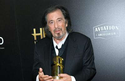 Al Pacino feeling good over Oscar nod