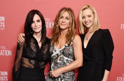 Courteney Cox: The Friends reunion was very emotional