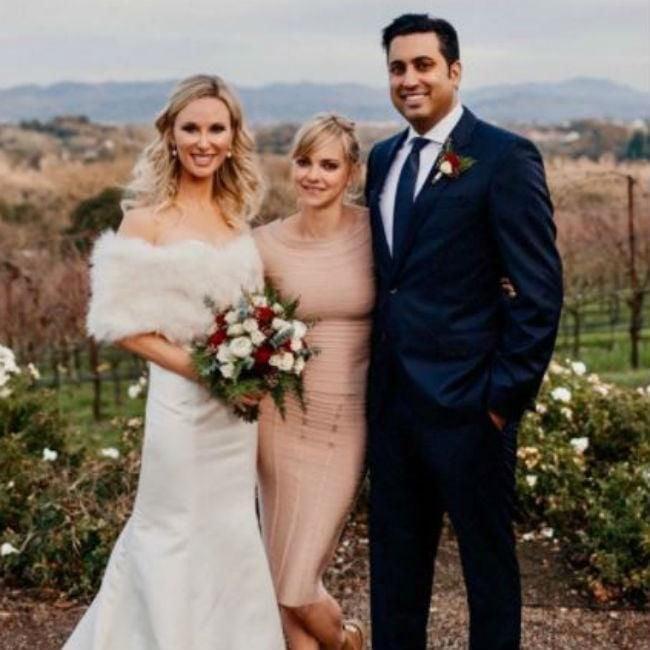 Anna Faris Officiates Friends' Wedding