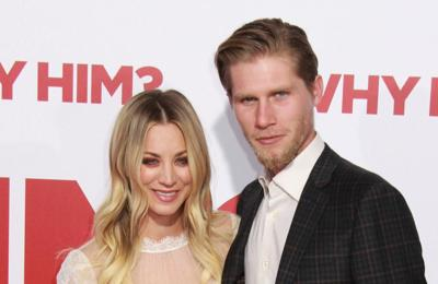 Kaley Cuoco doesn't live with husband Karl Cook