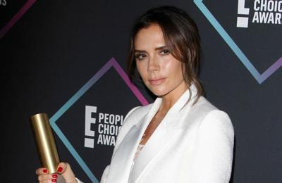 Victoria Beckham stays healthy with red wine