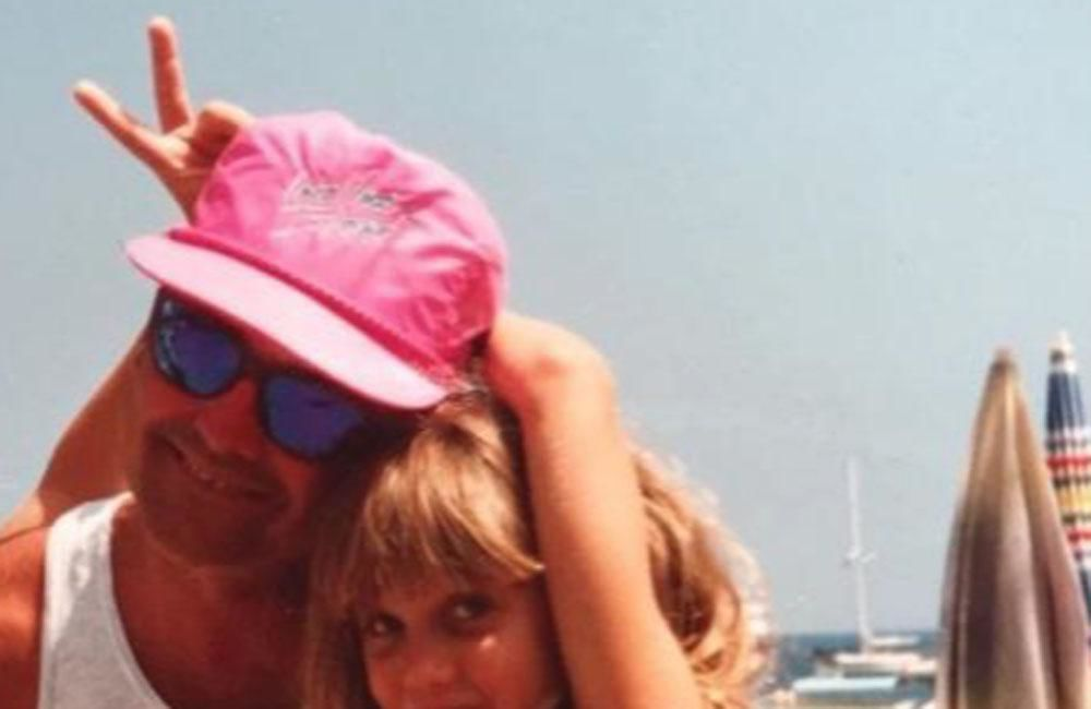 Ashley Roberts in state of shock after father dies of suicide