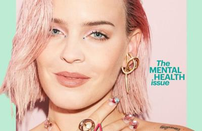 Anne-Marie lucky to write songs