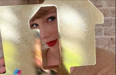 Taylor Swift breaks chart record set by The Beatles