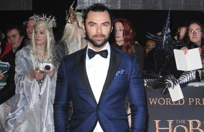 Aidan Turner 'never' wanted to be an actor