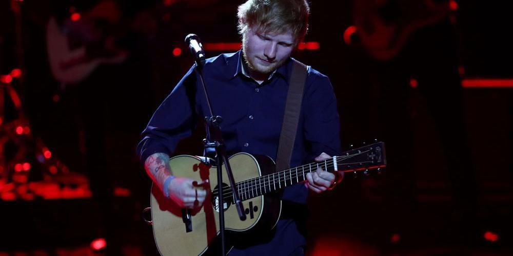 Ed Sheeran Slept On Jamie Foxx's Sofa