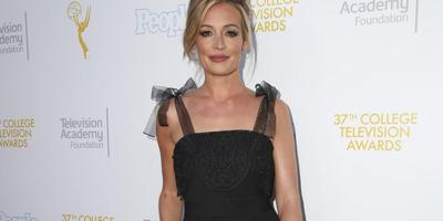 Cat Deeley Watches Wedding Video When Drunk