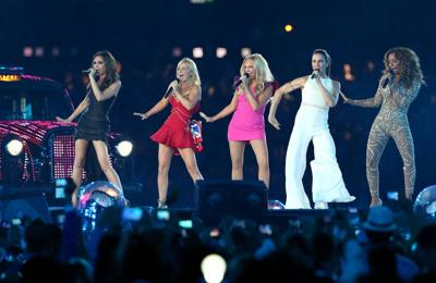 Victoria Beckham would love to perform at Glastonbury, says Mel C