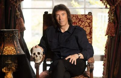 Steve Hackett 'got spooked in the cemetery of Liverpool Cathedral'
