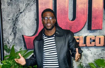 Kevin Hart will be 'back on track' in no time