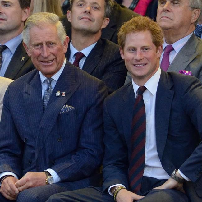 Prince Charles Thrilled For Prince Harry
