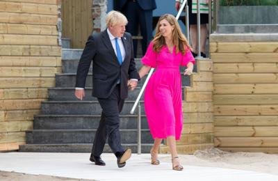 Boris Johnson's wife Carrie pregnant with couple's second child