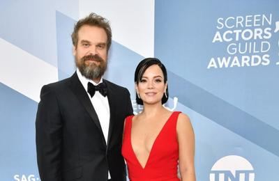 Lily Allen fell for David Harbour when he wore her merch on first date