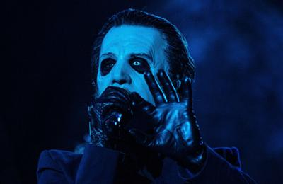 Ghost's Tobias Forge: Working with Metallica is a pinch-yourself moment
