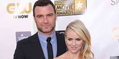 Liev Schreiber says working with Naomi Watts was a 'treat'