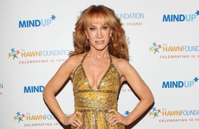Kathy Griffin suffering from 'painful' symptoms associated with coronavirus