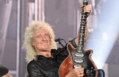 Brian May is 'grateful to be alive' after health scares