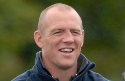 Mike Tindall watches The Crown