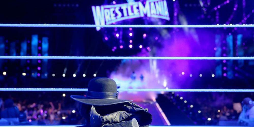 Undertaker Gear Left In The Ring
