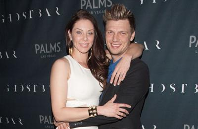 Nick and Lauren Carter home from hospital after baby's birth