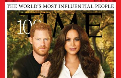 Prince Harry and Meghan make TIME Magazine's 100 most influential people list for their 'essential conversations on mental health'