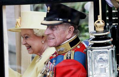 Prince Philip wore wedding shoes throughout his life