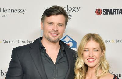Tom Welling to be dad again