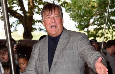 Stephen Fry hasn't washed his hair with shampoo in eight years