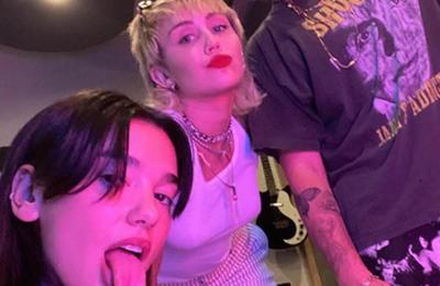Miley Cyrus gets Dua Lipa and Billy Idol on the same record