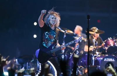Kirk Hammett's guitar from Metallica's One music video goes under the hammer