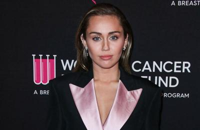 Miley Cyrus records duet with punk rock legend Billy Idol