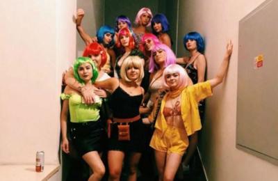 Sophie Turner's European bachelorette party