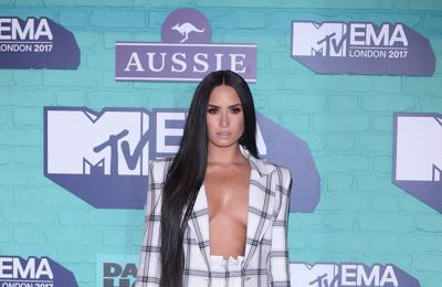 Demi Lovato's post-sex scene joy