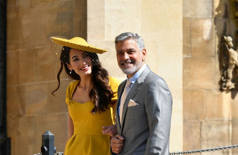 George Clooney Poured Shots At Royal Wedding Reception