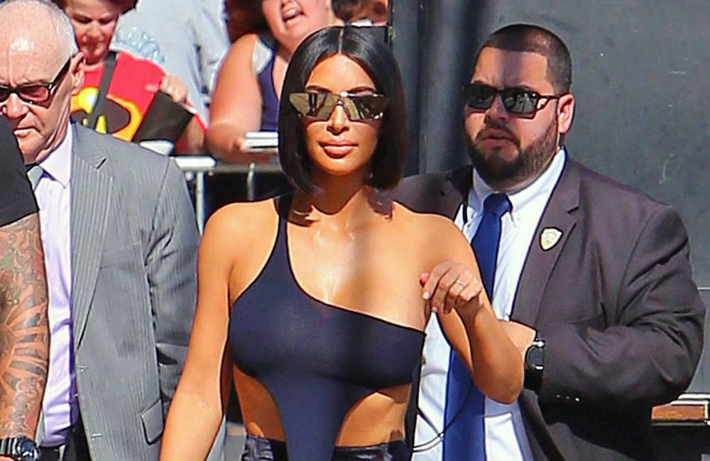 Kim Kardashian West's hungover workout