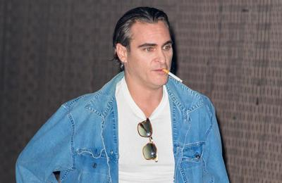 Joaquin Phoenix in minor crash