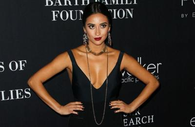 Shay Mitchell blocks out critics of her relationship
