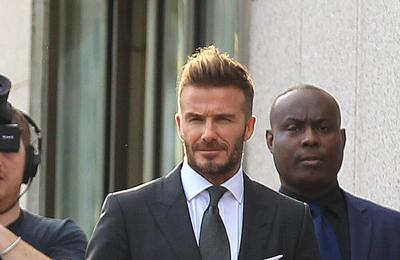 David Beckham to present winners trophy at Soccer Aid match