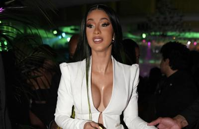 Cardi B wants to use her breasts to 'float'