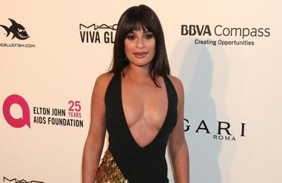 Lea Michele pays tribute to Cory Monteith