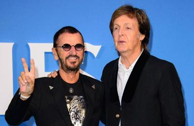 Paul McCartney and Ringo Starr host mini Beatles reunion