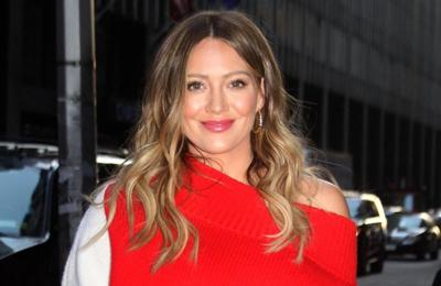 Hilary Duff made her placenta into a smoothie