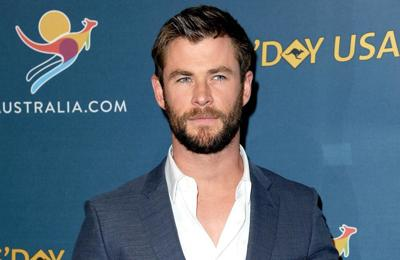 Chris Hemsworth is 'sensitive'