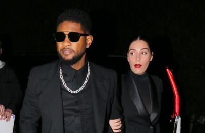 Usher 'enjoying' his and Jenn Goicoechea's 'baby boom'
