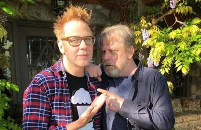 James Gunn: Mark Hamill has never been in talks for Guardians of the Galaxy 3