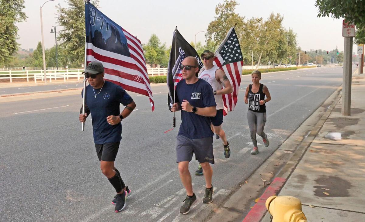 Running in the memory of Sept. 11 victims