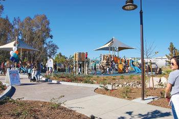 Los Serranos Park on Pomona Rincon Road