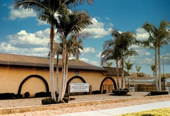 The Kingdom Hall for Jehovah's Witnesses on Walnut Avenue in Chino